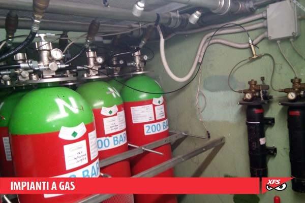 Impianti a gas - Impianto Sprinkler