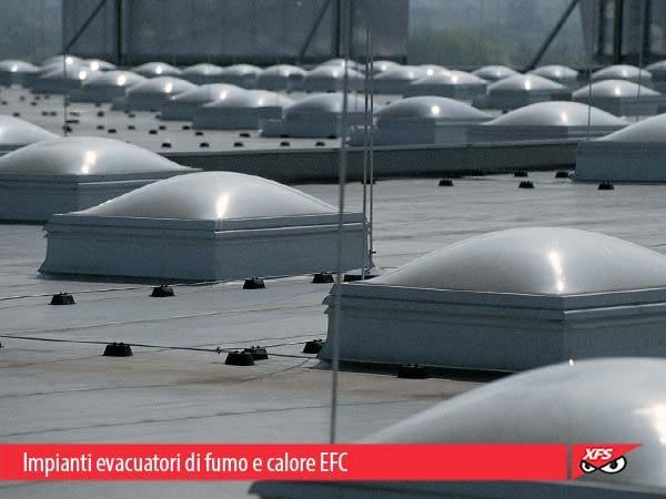 Impianti evacuatori di fumo e calore EFC