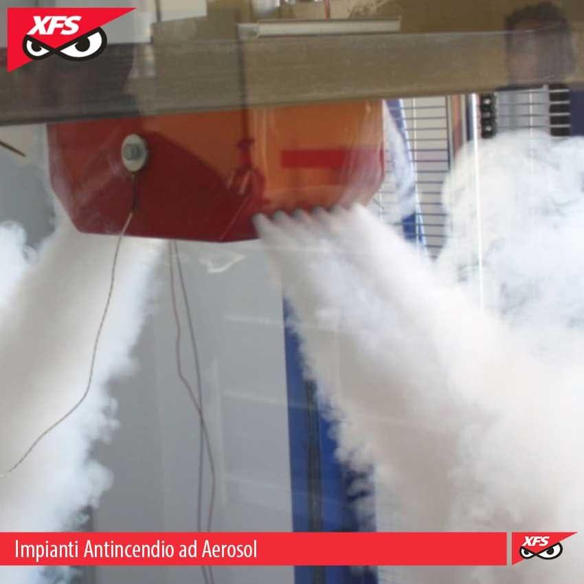 impianti antincendio aerosol